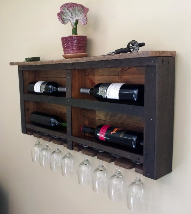 How To Build A Wine Rack From Pallets