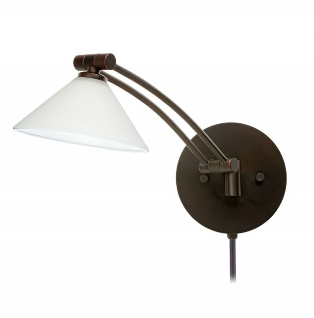 Industrial Plug In Wall Sconce