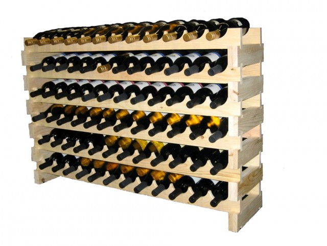 Large Wine Rack Plans