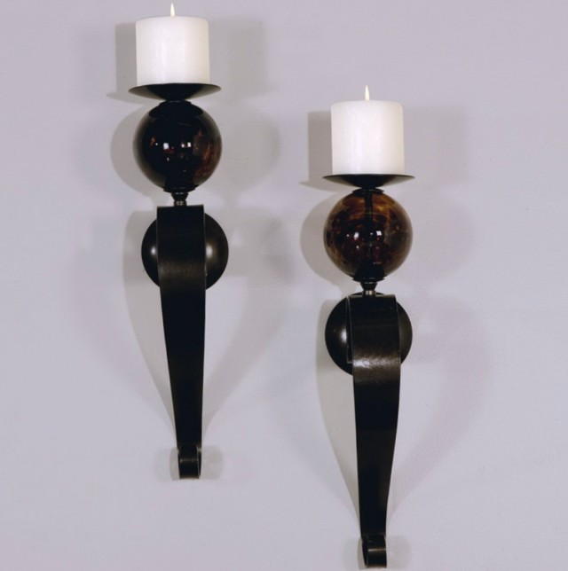 Long Wall Sconces Candles