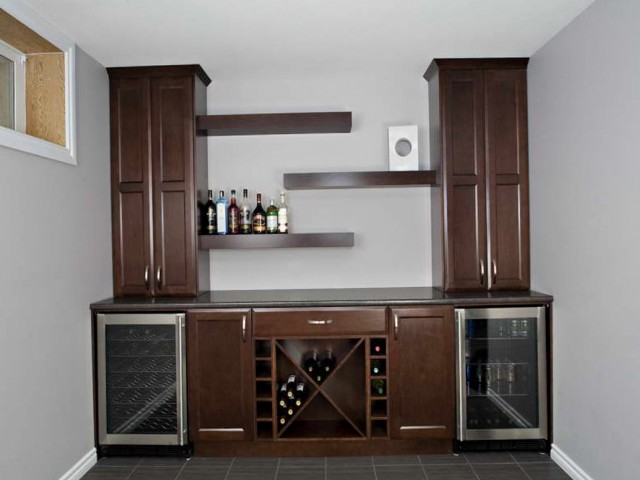 Modern Wine Rack Countertop