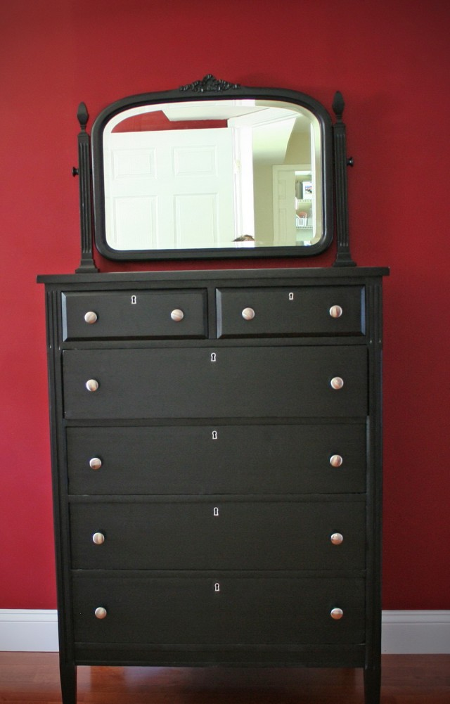 Refinishing A Dresser With Paint