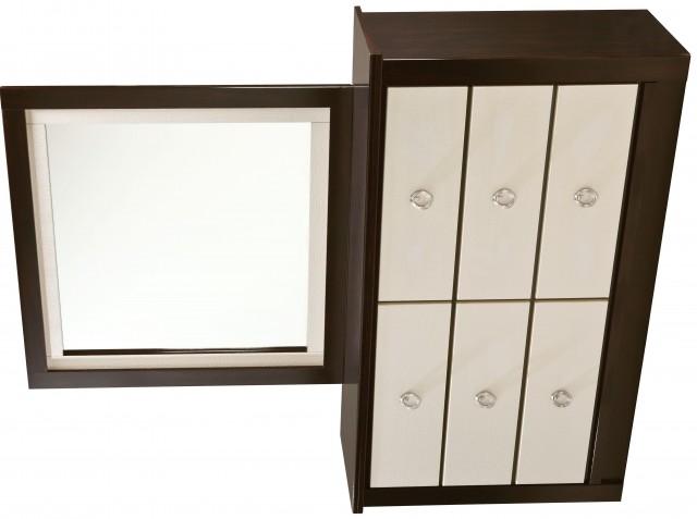 Six Drawer Dresser With Mirror