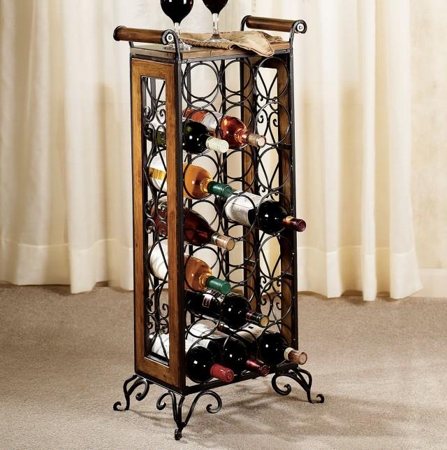 Small Metal Wine Racks