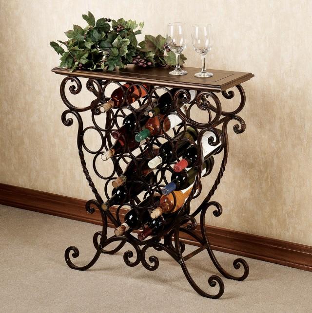 Small Tabletop Wine Rack