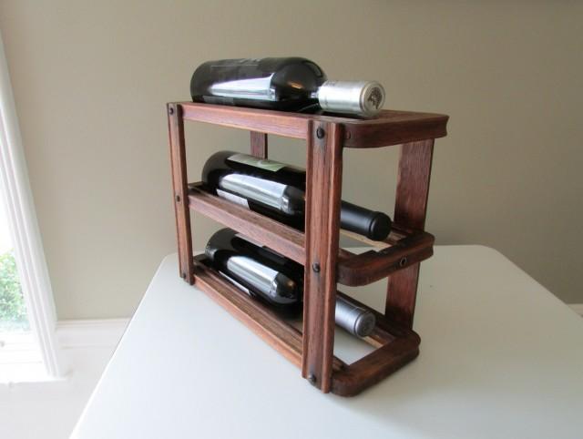 Small Wine Racks Wood