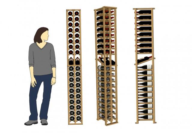 Standard Wine Rack Dimensions