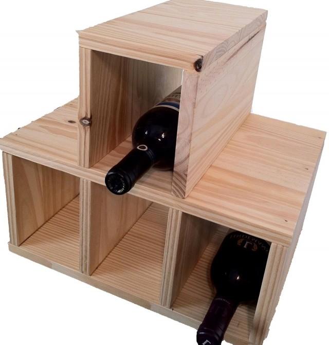 Tabletop Wine Rack Plans
