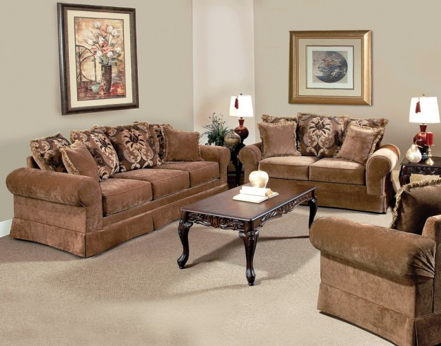 Traditional Sofa And Loveseat Sets