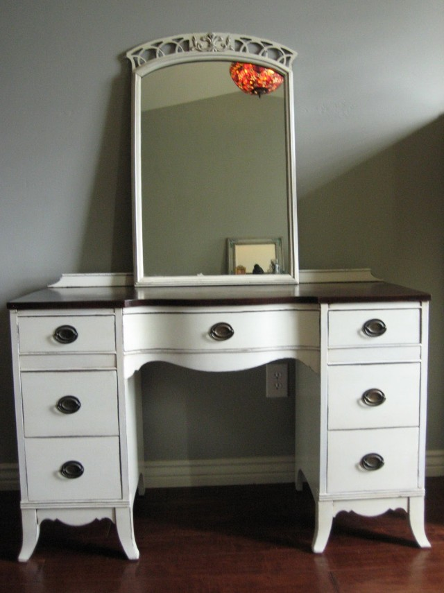 Vanity Dresser With Mirror For Sale