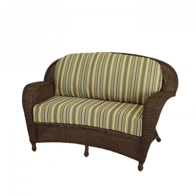 Wicker Loveseat Cushions Clearance