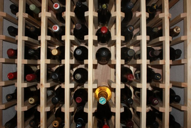 Wine Rack Cabinet Insert Easy Upgrades