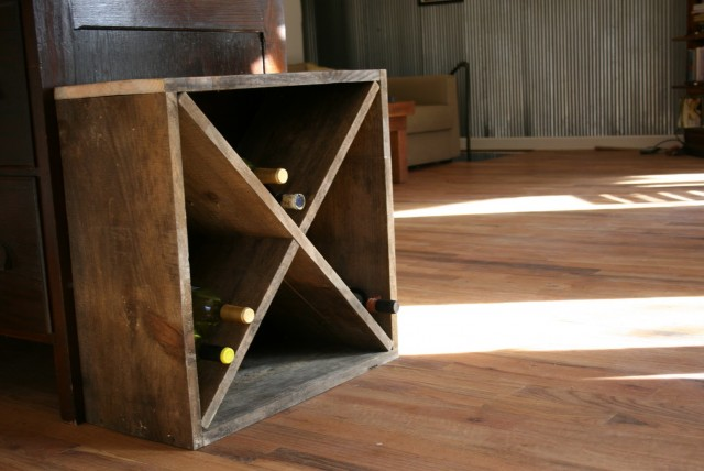 Wine Rack Plans Diamond