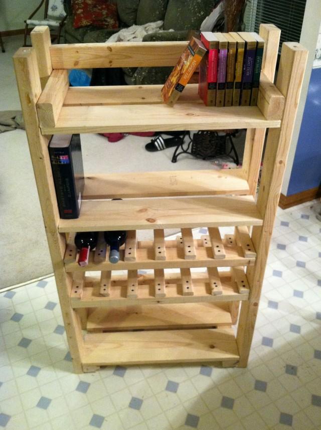 Wood Wine Racks Plans