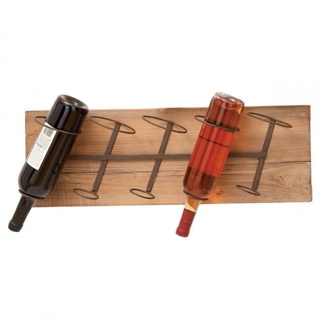 Wooden Wall Mounted Wine Racks