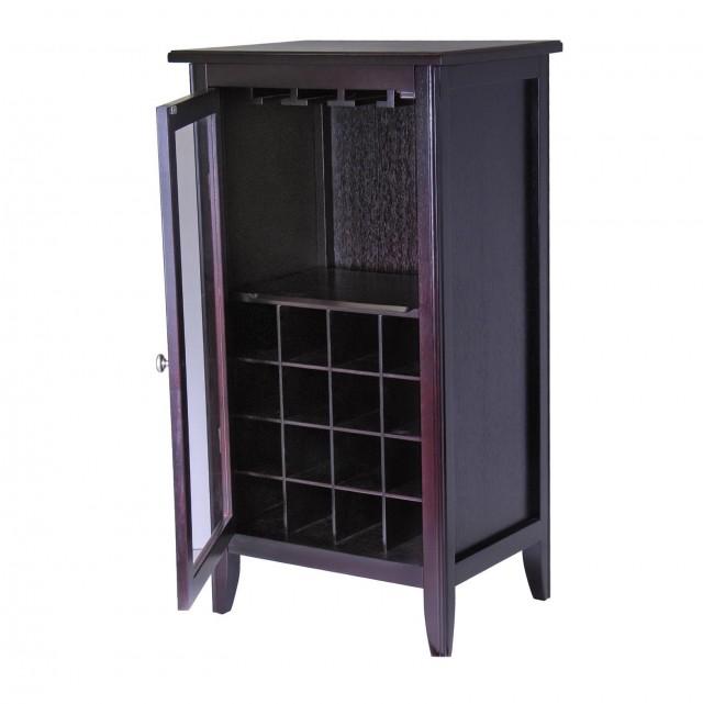 Wooden Wine Rack Cabinet