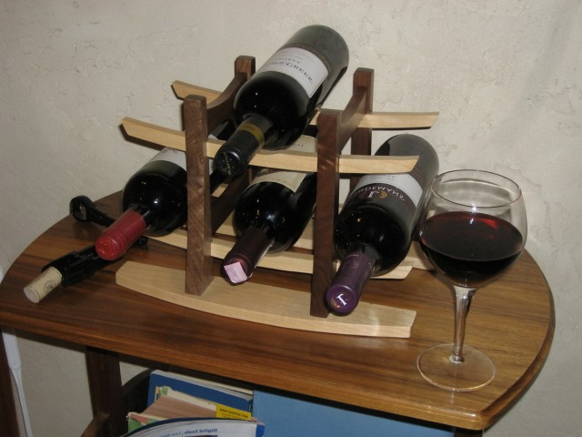 Wooden Wine Rack Plans Free