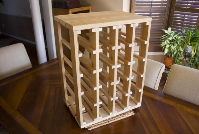 Wooden Wine Racks Plans