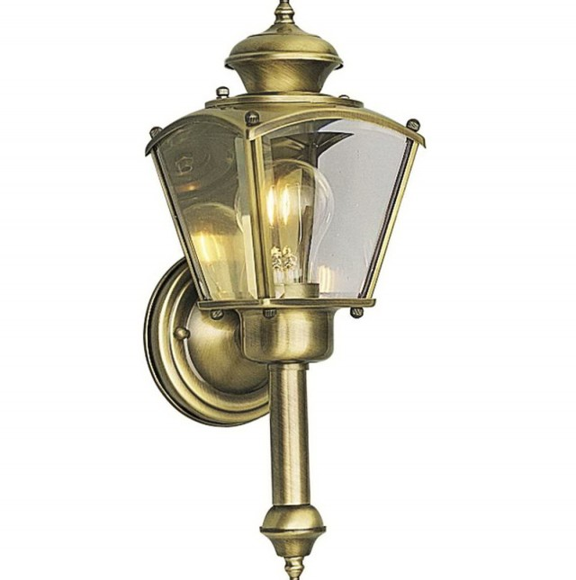 Brass Wall Sconce Lighting