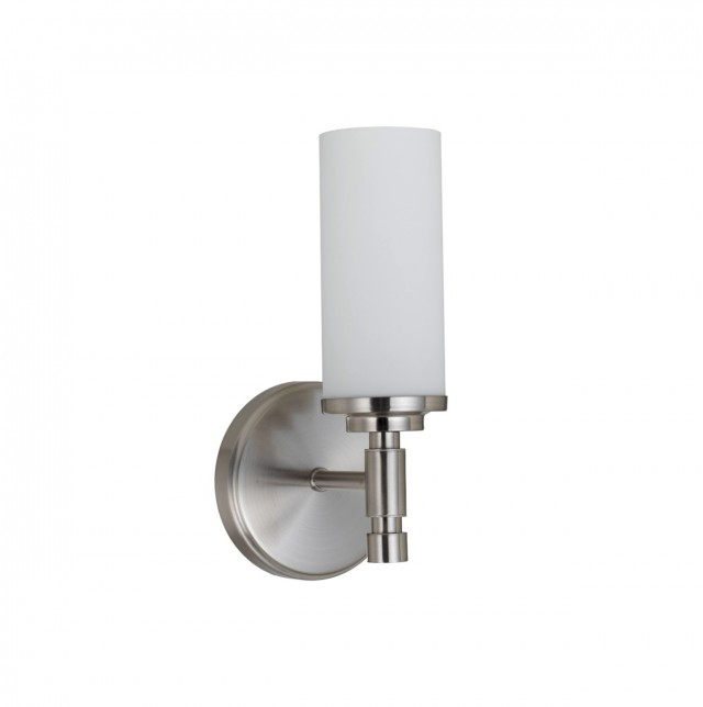 Brushed Nickel Sconce Lighting