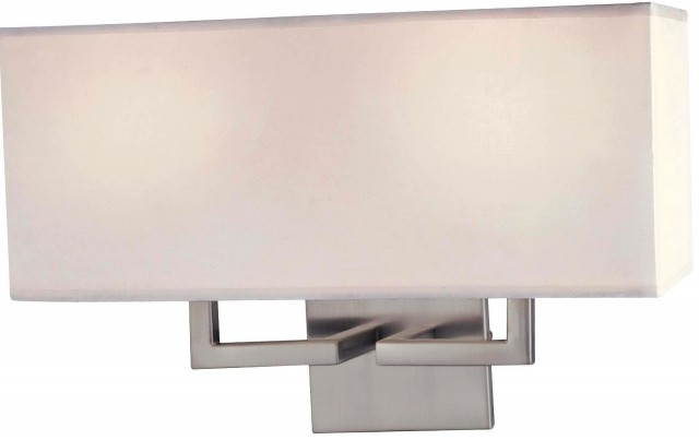 Brushed Nickel Sconces Bathroom