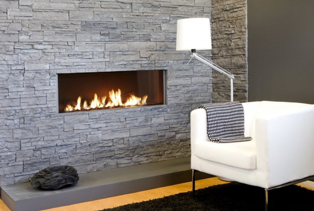 Built In Wall Fireplace