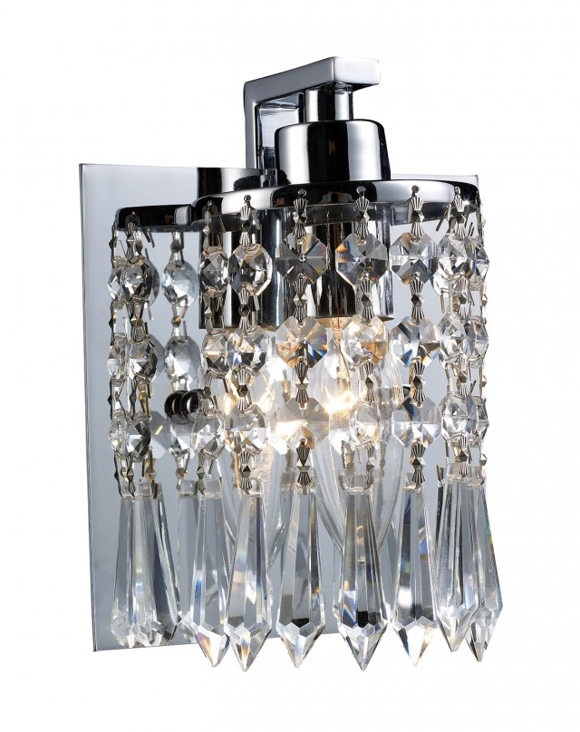 Crystal Sconces For Bathroom