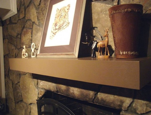 Diy Fireplace Mantel Box