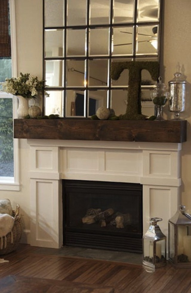 Diy Fireplace Mantel Decorating