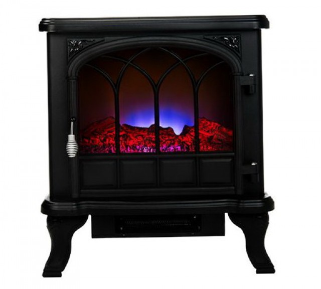 Duraflame 20.5 In 4 600 Btu Brown Electric Fireplace Logs With Remote Control