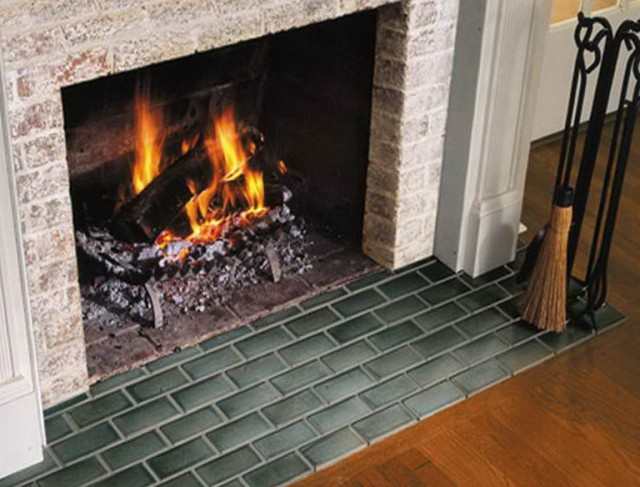 Fireplace Hearth Ideas Tile