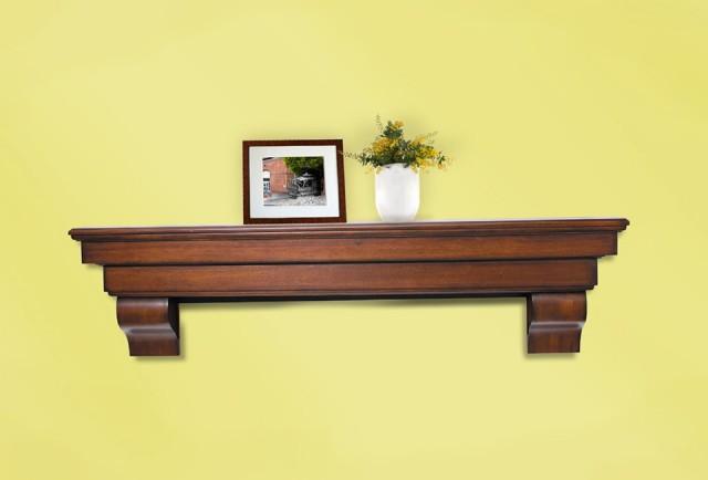 Fireplace Mantel Shelf Height