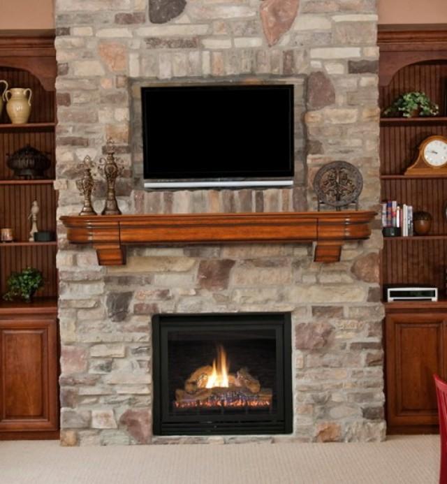 Fireplace Mantel Shelf Kits
