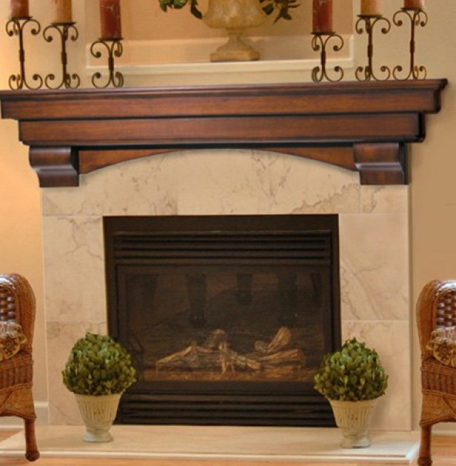 Fireplace Mantel Shelf Plans