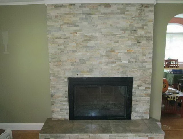 Fireplace Wall Tile Ideas