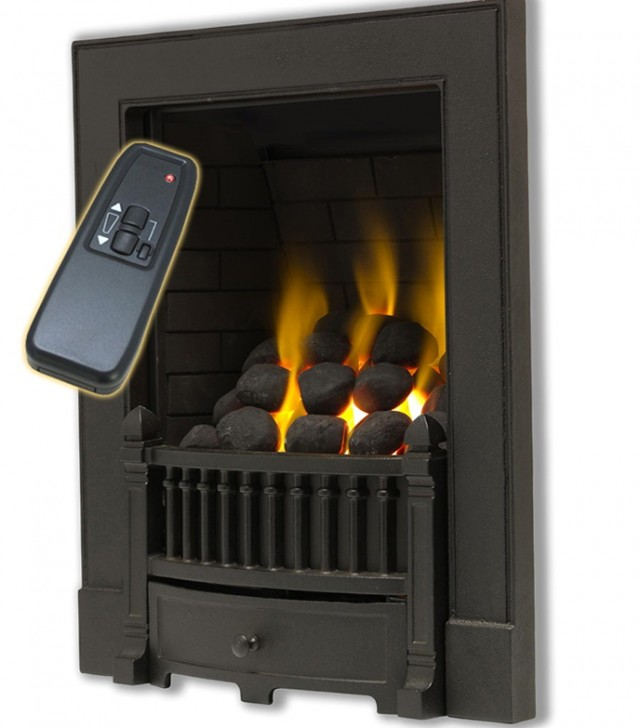 Gas Fireplace Logs With Remote Control