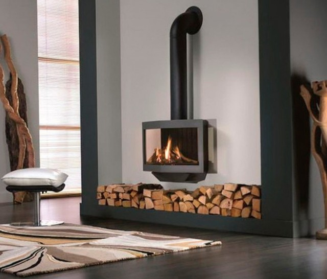 Gas Stove Fireplace Designs