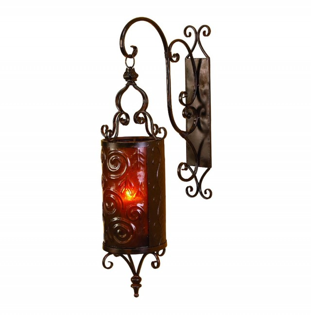 Lantern Wall Sconce Candle
