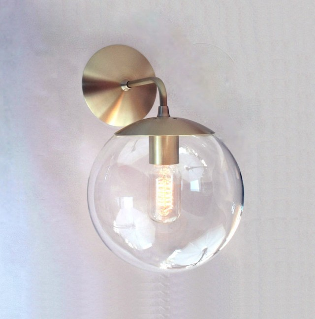 Mid Century Modern Outdoor Wall Sconce