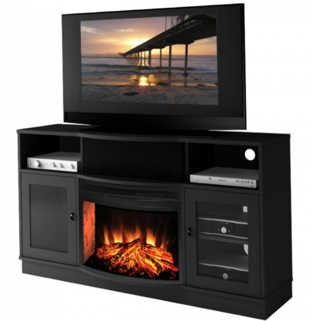 Modern Electric Fireplace Tv Stand
