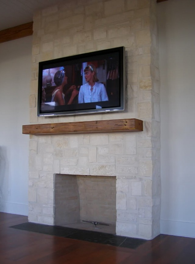 Mounting Flat Screen Tv Above Fireplace