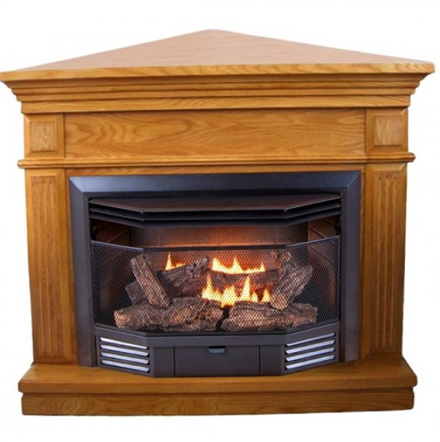 Natural Gas Ventless Fireplace