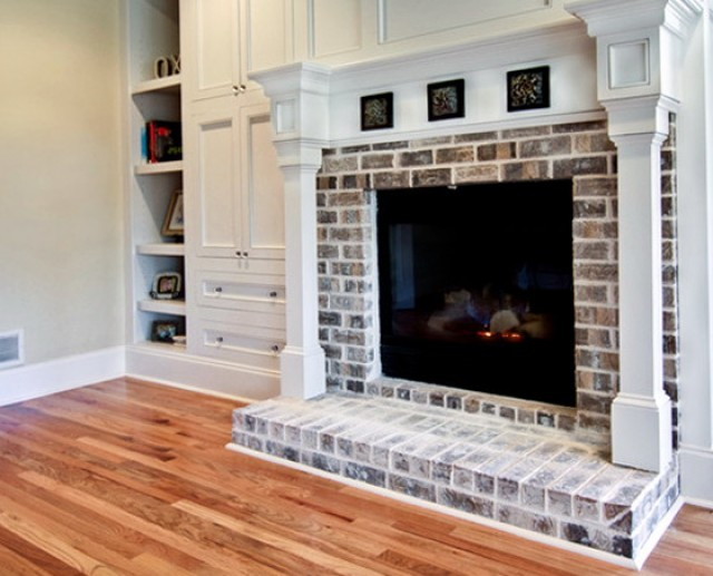 Painting A Brick Fireplace Color Ideas