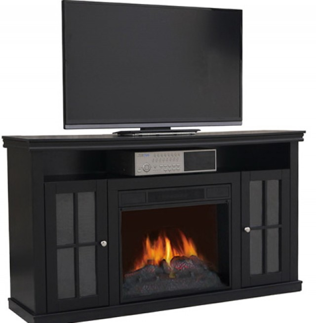 Portable Electric Fireplace Tv Stand