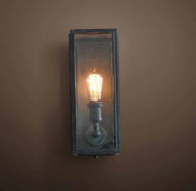 Restoration Hardware Harbor Sconce