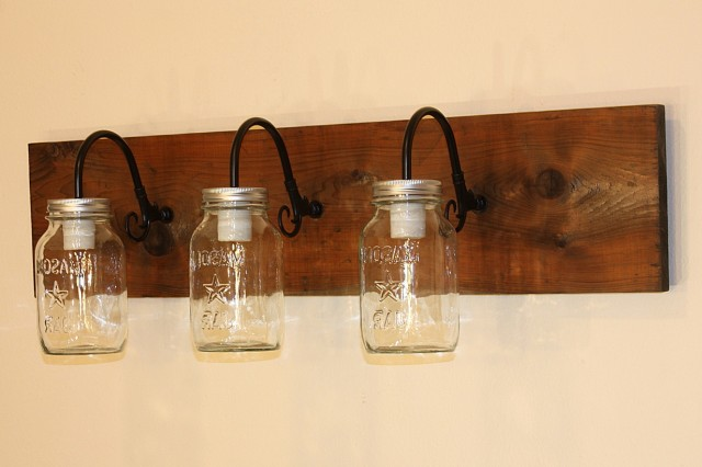 Rustic Wall Sconce Light Fixture