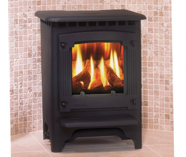 Small Free Standing Gas Fireplace