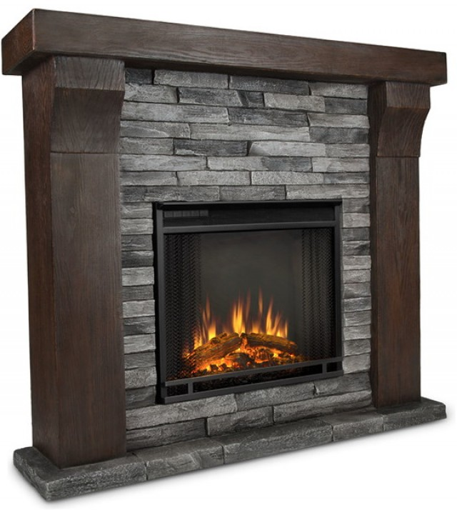 Stone Electric Fireplaces Sale