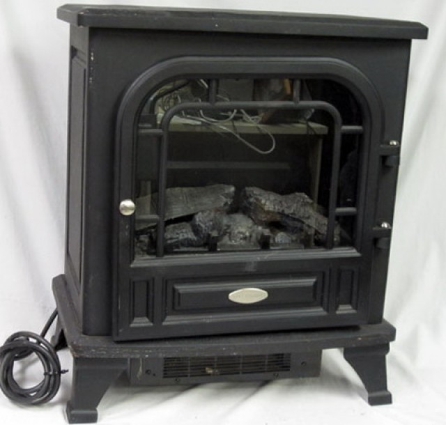 Twin Star Chimney Free Electric Fireplace