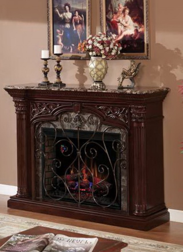 Twin Star Electric Fireplace Model 23ef003gra